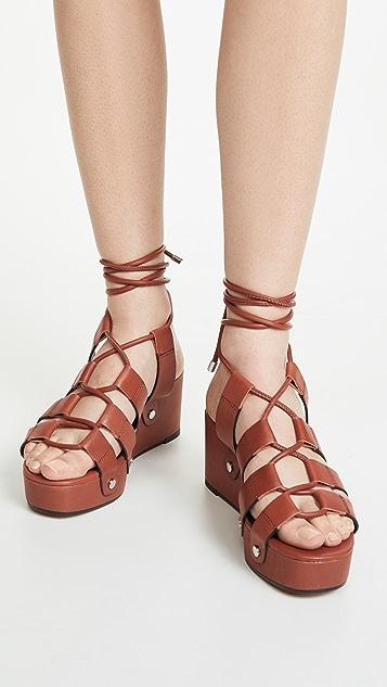 Rebecca Minkoff Iven 系带凉鞋
