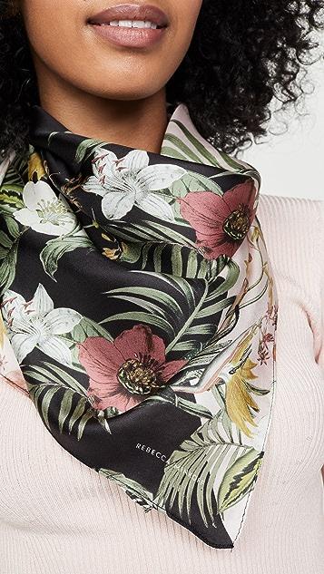Rebecca Minkoff Tropical Splice 方形围巾