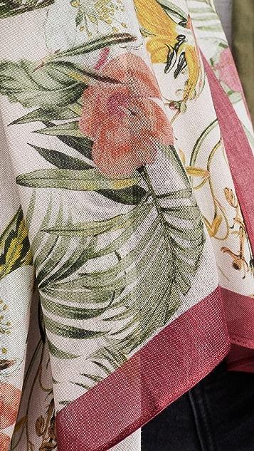 Rebecca Minkoff 热带风情长围巾
