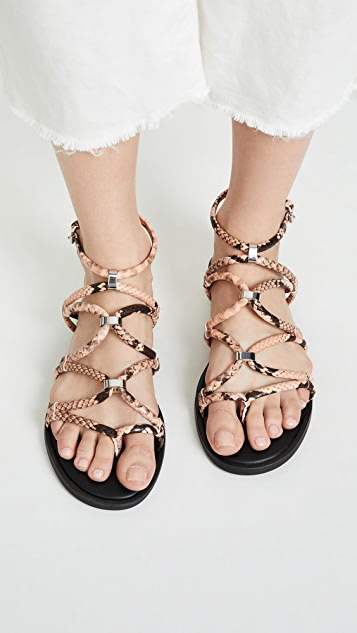 Rebecca Minkoff Sarle 系带凉鞋