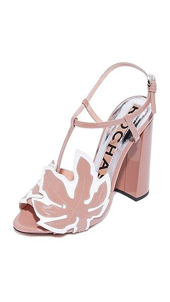 Rochas 粗跟凉鞋