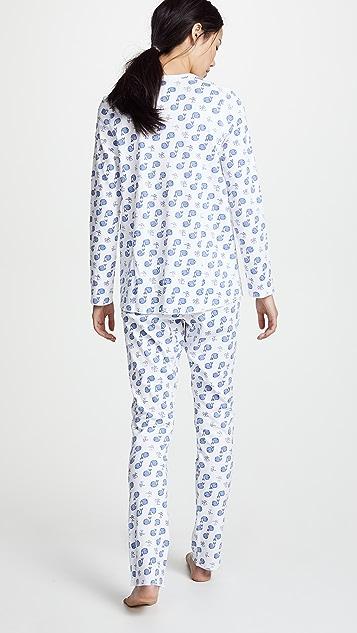 Roller Rabbit Moby 睡衣套装