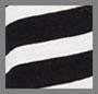 黑色/ 白色 Judy 条纹