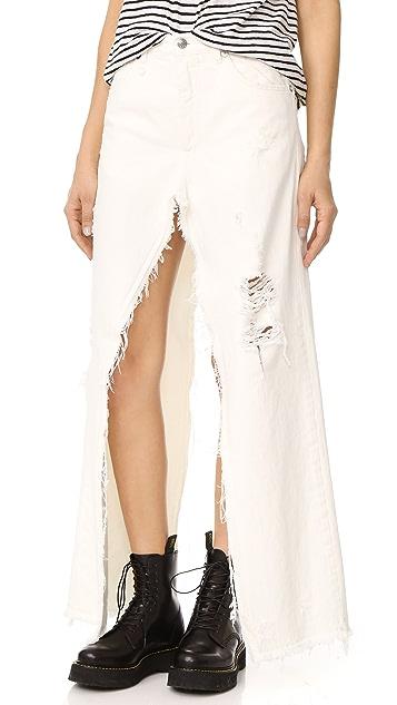 R13 Sashah 短裤