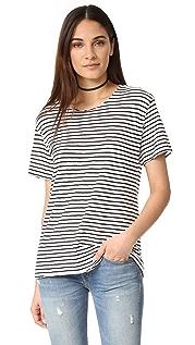 R13 条纹设计 Rosie T 恤