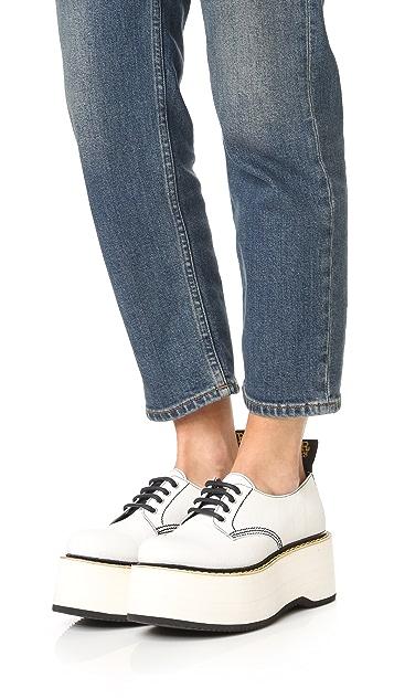 R13 X Stack Doodle 牛津鞋