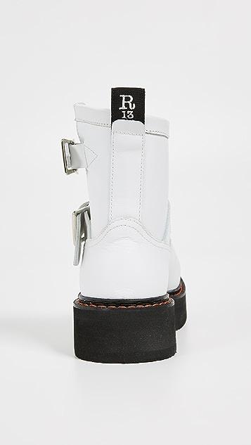 R13 Single Stack Engineer 靴子