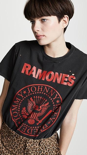 R13 Ramones Boy T 恤