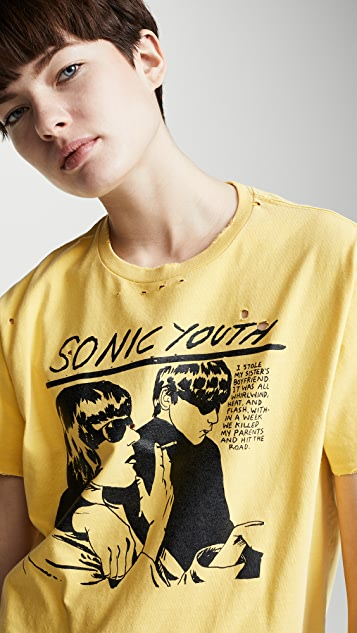 R13 Sonic Youth Boy T 恤