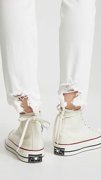 R13 男孩风紧身牛仔裤