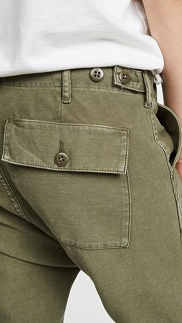 R13 Utilty 低裆裤