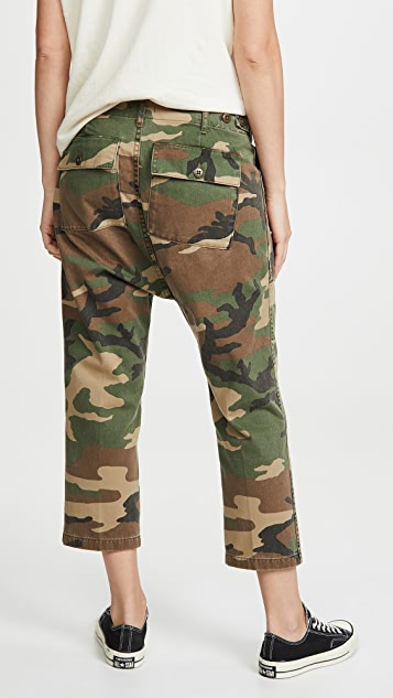 R13 实用低裆裤