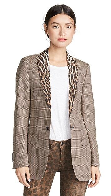 R13 青果领礼服式西装外套