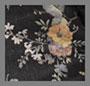 浅色花朵印花