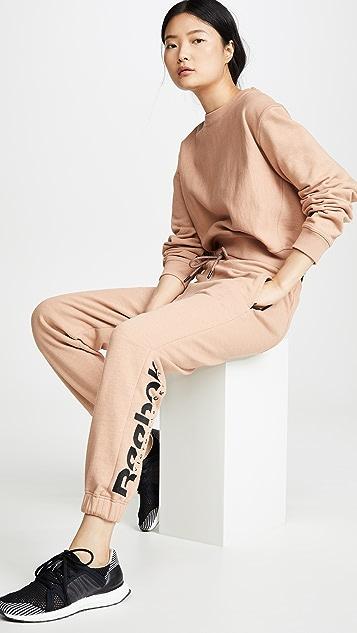 Reebok x Victoria Beckham RBK VB New 慢跑长裤