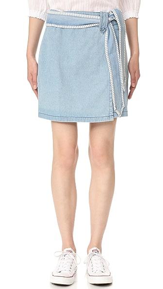Ryder Evie 牛仔布半身裙