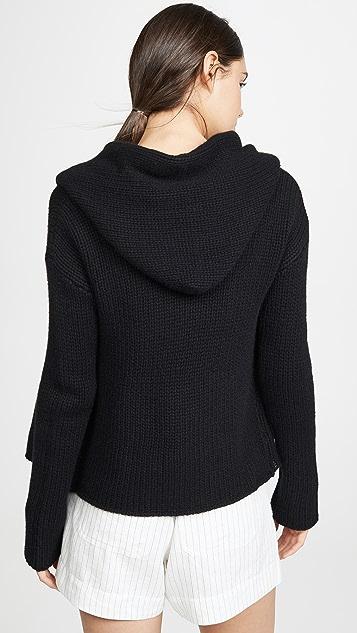 Sablyn Isabelle 开司米羊绒开襟衫