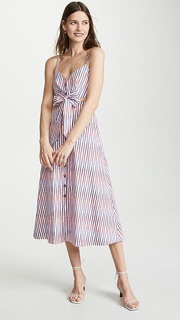 Saloni Lea B 镂空连衣裙