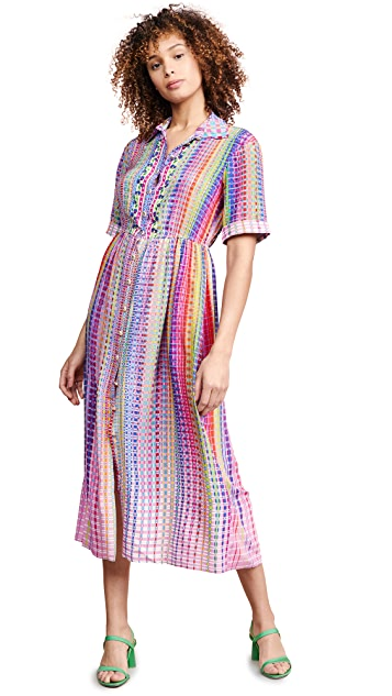 Saloni Ash-B 连衣裙