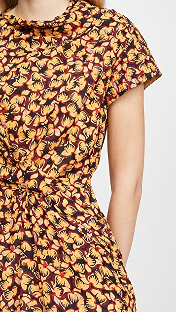 Saloni 半罩杯连衣裙
