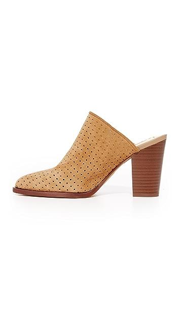 Sam Edelman Bates 多孔绒面革穆勒鞋