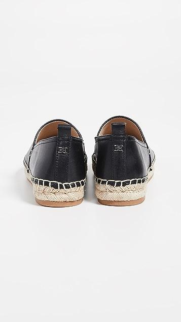 Sam Edelman Khloe 编织底坡跟绑带凉鞋