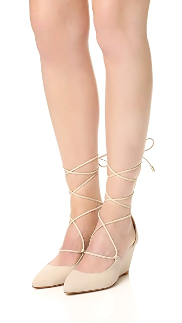 Schutz Bibian 坡跟浅口鞋