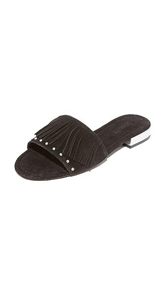 Schutz Zilu 流苏凉拖鞋
