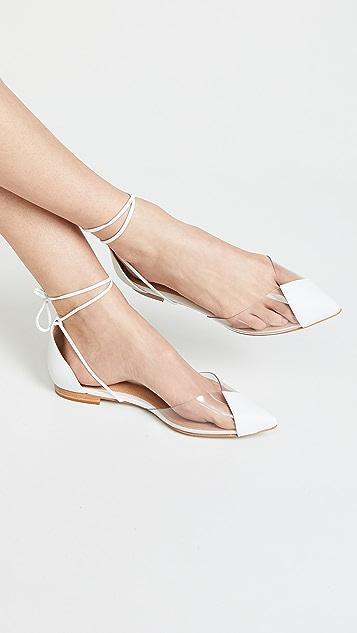 Schutz Merry 尖头平底鞋