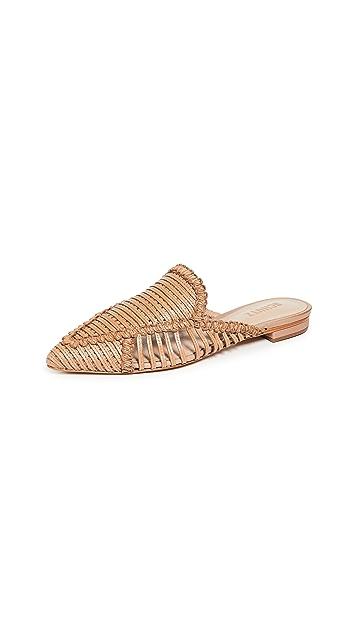 Schutz Marli 尖头平底鞋
