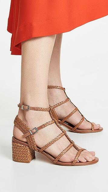 Schutz Rosalia 系带凉鞋