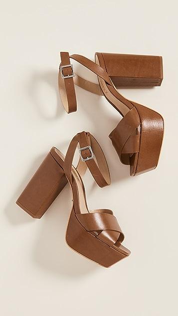 Schutz Saphire 厚底凉鞋