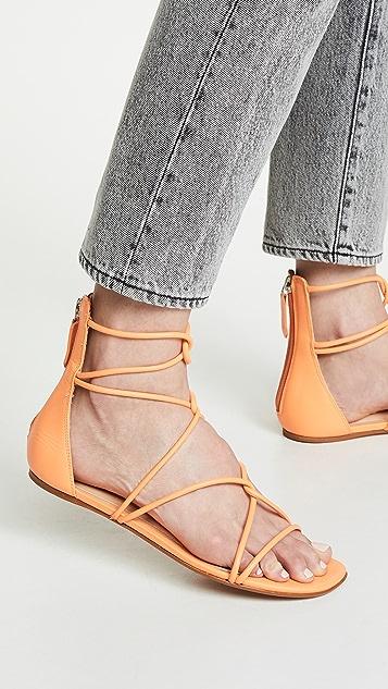 Schutz Fabia 绑带凉鞋
