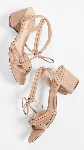 Schutz Veronica 系带凉鞋