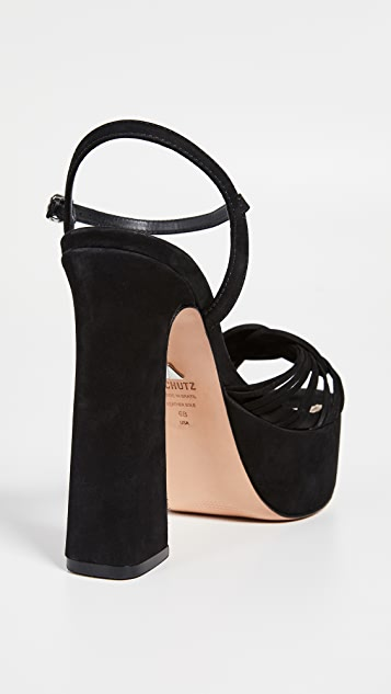 Schutz Anselma 厚底凉鞋