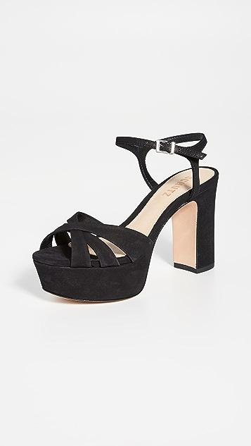 Schutz Keefa 厚底凉鞋