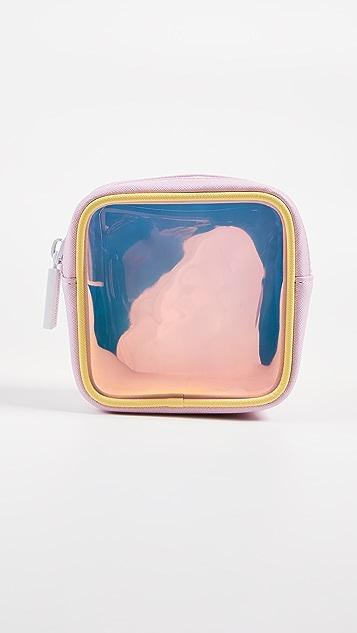 石质苜蓿巷 炫彩淡彩色手包