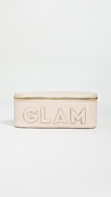 石质苜蓿巷 Glam 镜面顶部开口手包