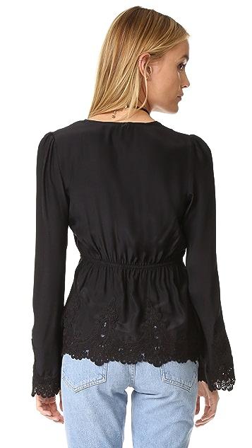 Stone Cold Fox Garnet 女式衬衫