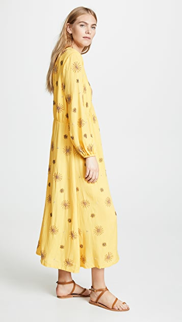SUNDRESS Chicago 长款罩层连衣裙