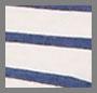 白色/蓝色条纹