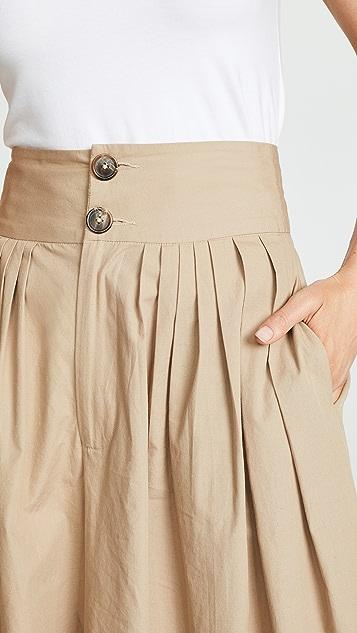 Sea Cruise 经典微型褶皱裤子