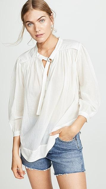 Sea Okeefe D 型环女式衬衫