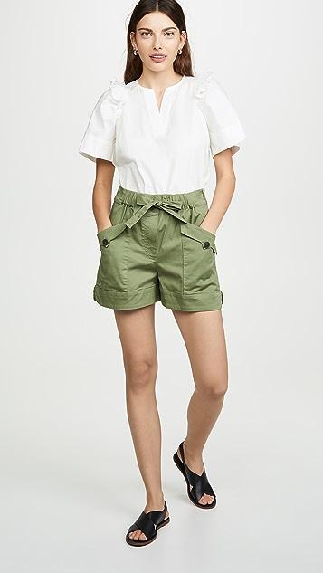 Sea Tula 工装短裤