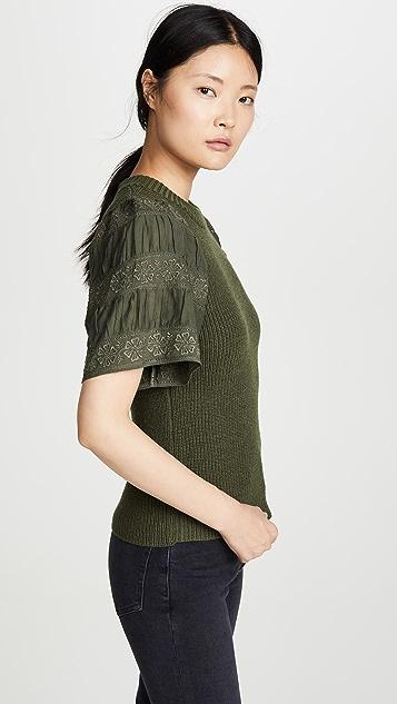 Sea Audrey 短袖毛衣