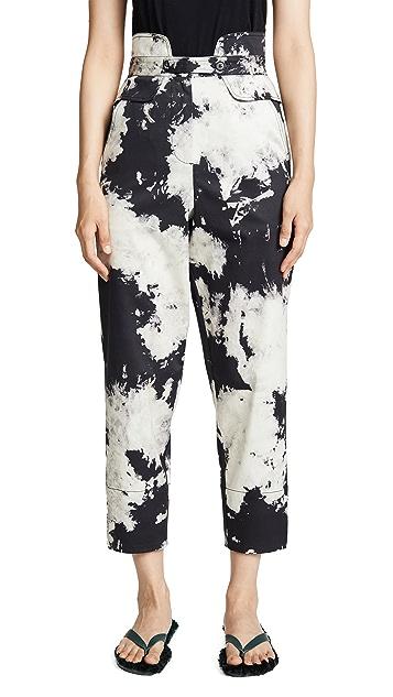 Sea Ione 斑点漂白长裤