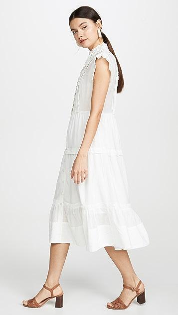 Sea Viola 无袖中长连衣裙