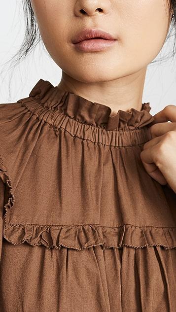 Sea Rumi 七分袖女式衬衫