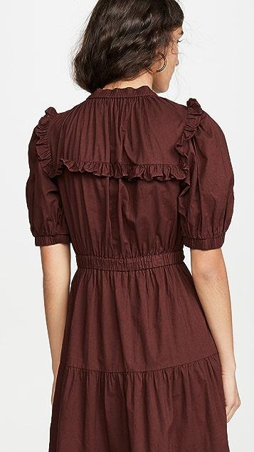 Sea Rumi 层褶连衣裙