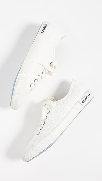 SeaVees Monterey 刺绣运动鞋